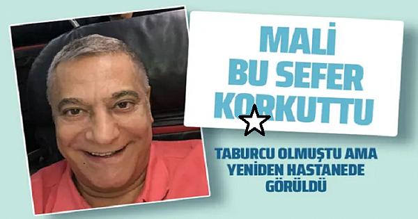 Mehmet Ali Erbil yine k-orkuttu sessiz sedasız hastaneye girerken görüldü