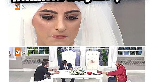 ATV Esra Erol'da Ezgi ve Hüseyin evlendi! Canlı yayında son dakika şoku yaşandı