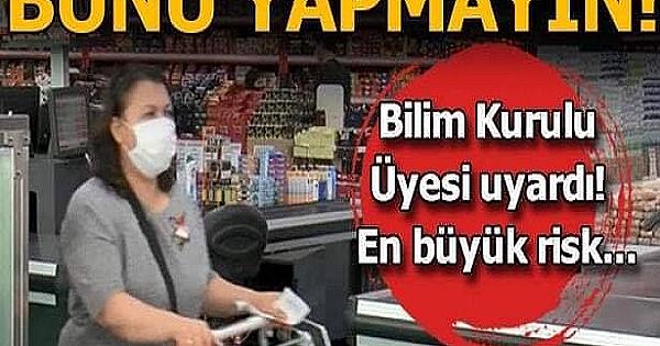 Marketlerde çokça yapılan bu yanlış nedeniyle vatandaşları uyardı