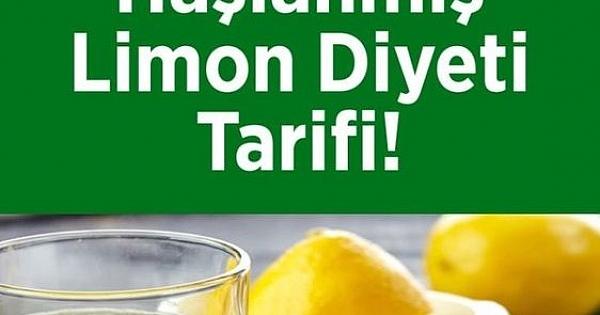 1 Ayda 20 Kilo Verdiren Haşlanmış Limon Diyeti Tarifi