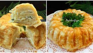Kolay Börek Tarifi (Kek Kalıbında)